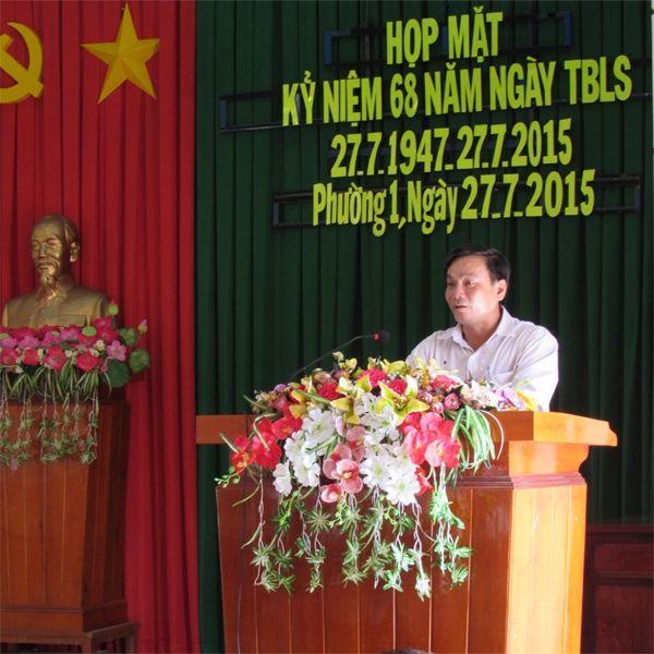 Bài phát biểu tri ân tại Lễ viếng Đài tưởng niệm các anh hùng Liệt sĩ