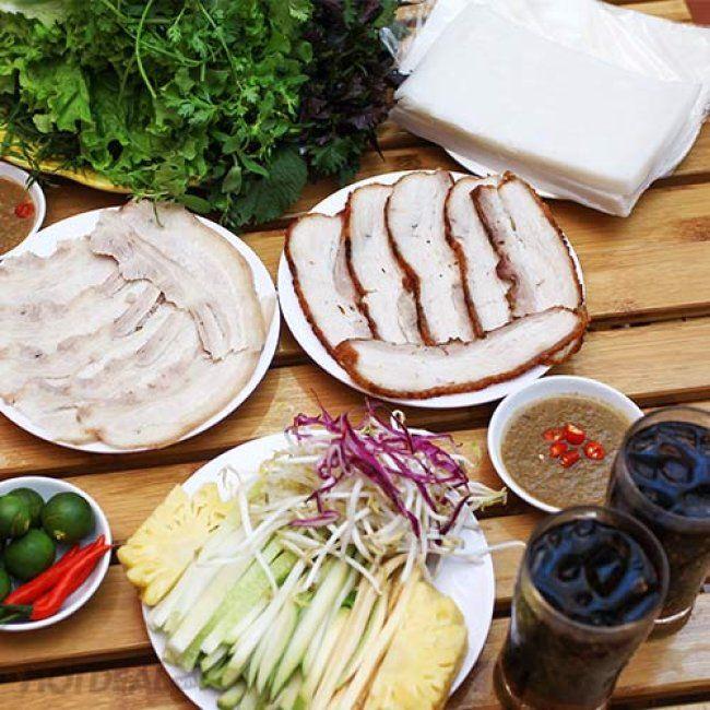 Bánh Tráng Thịt Heo Hoàng Bèo