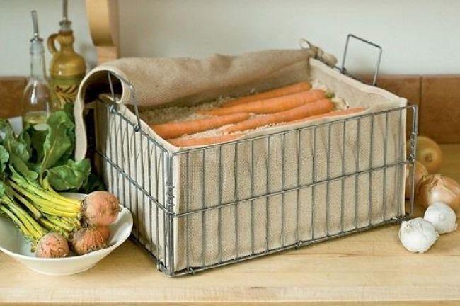 Bảo quản cà rốt