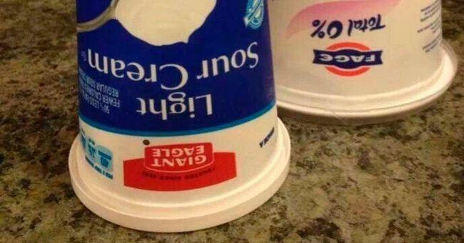 Bảo quản sản phẩm làm từ bơ sữa