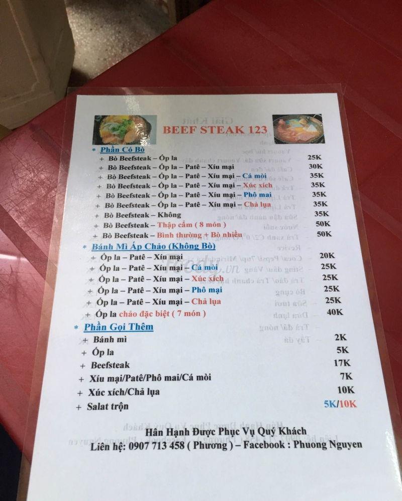Beefsteak 123 - Nguyễn Văn Trỗi