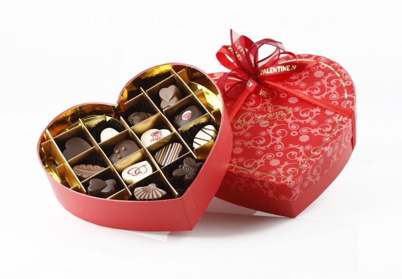 Chocolate là món quà tình yêu quen thuộc