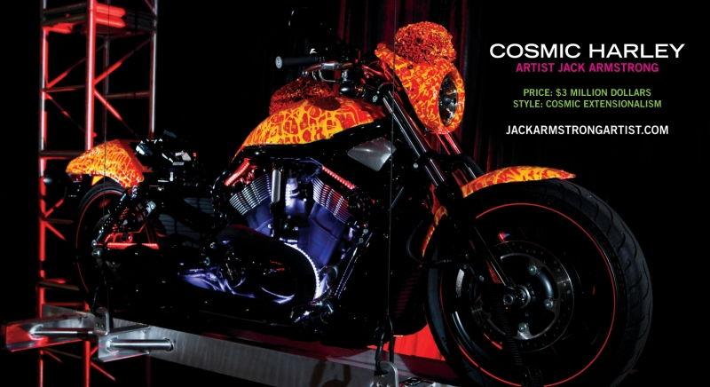 Cosmic Starship Harley Davidson