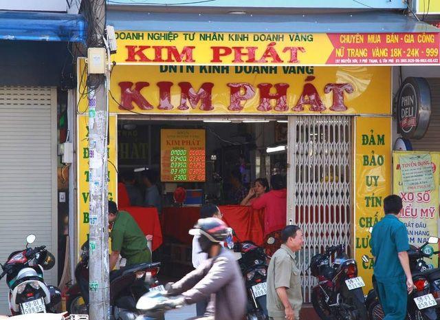 Cửa hàng vàng bạc Kim Phát