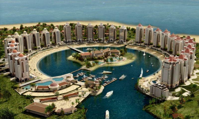 Đảo Pearl Qatar, Qatar