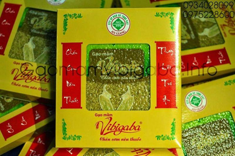 Gạo mầm vibigaba của công ty BVTV An Giang