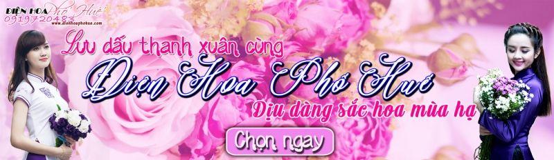 Hoa tươi điện hoa phố Huế