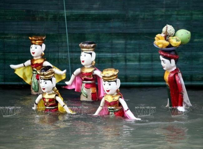 Hội làng Rối nước Đào Thục, Thụy Lâm