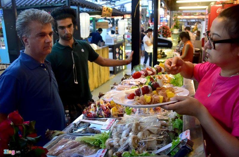 Khu ẩm thực của Sài Gòn