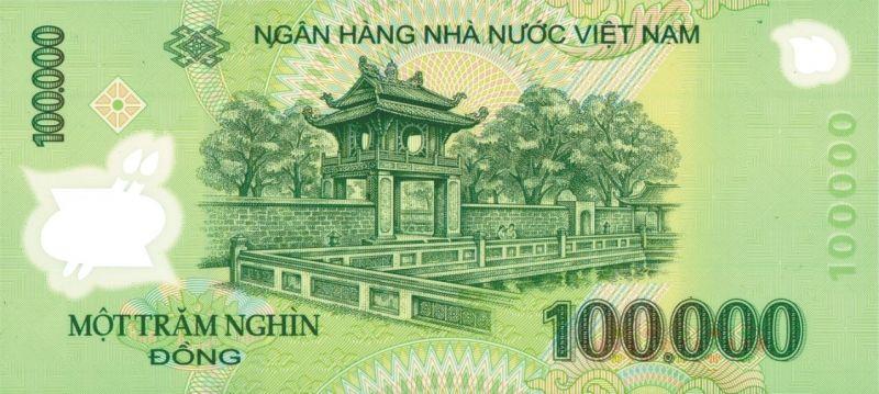 Kiểm tra hình trong suốt trên tờ tiền