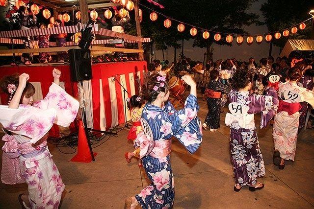 Lễ hội múa Bon yên lặng (Muon Bon Odori)