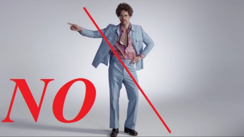 Luôn chọn những trang phục vừa khít với số đo của mình
