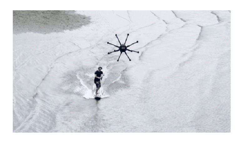 Lướt sóng không cần trực thăng người lái