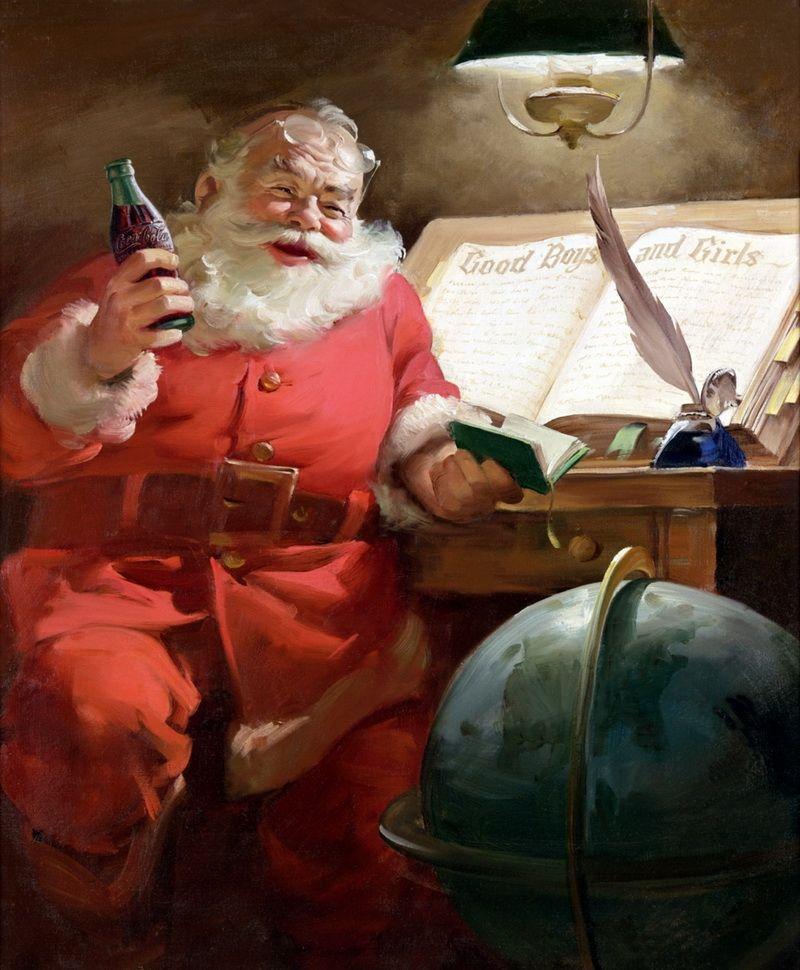 Lý do trang phục của ông già Noel màu đỏ