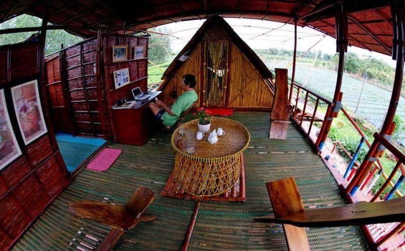 Maison en Bambou Phong-Le Vent (Ngôi Nhà Tre )