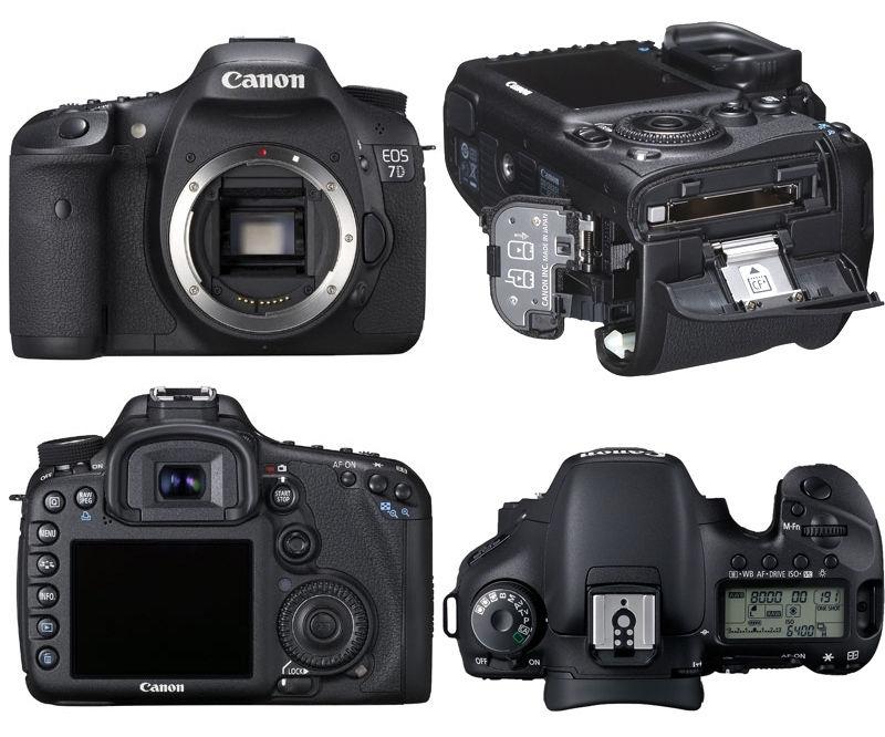 Máy ảnh Canon EOS 7D