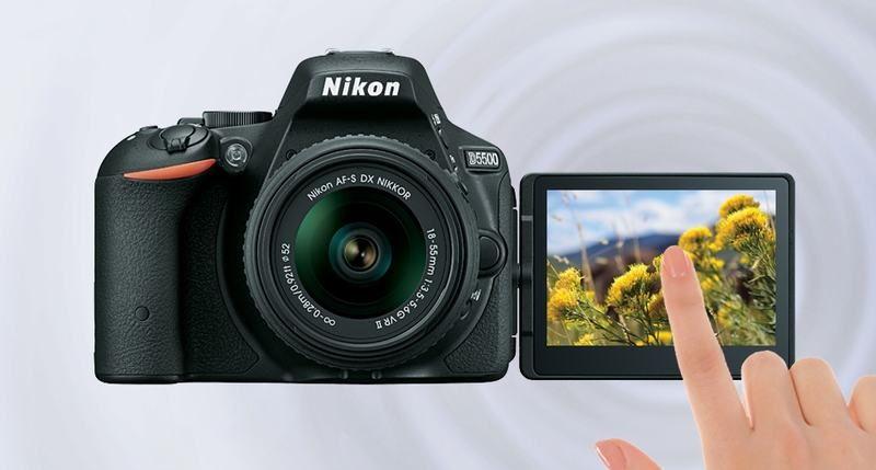 Máy ảnh Nikon D5500 Kit 18-55 VR