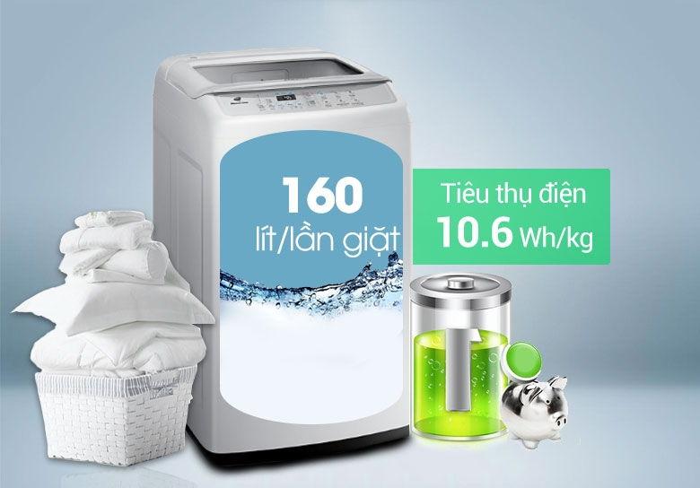 Máy giặt Samsung 8kg WA-80H4000SW