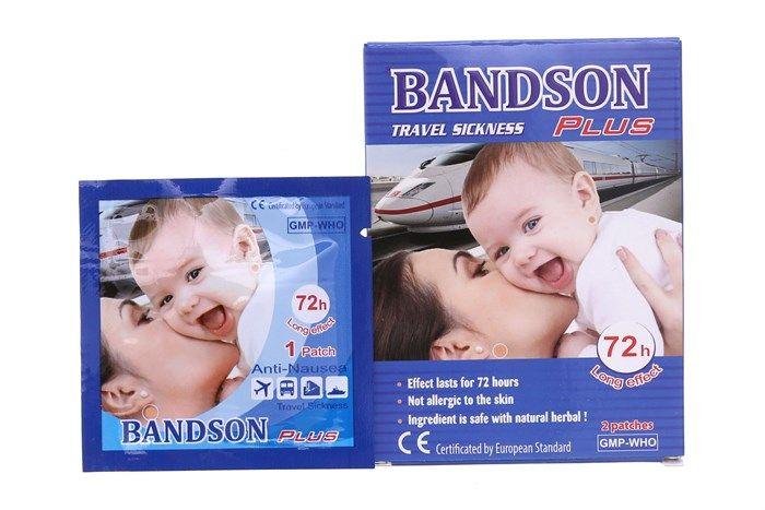 Miếng dán say xe Bandson Plus