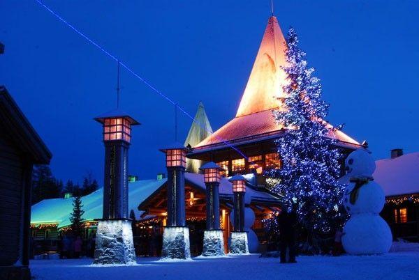 Ngôi làng của ông già Noel