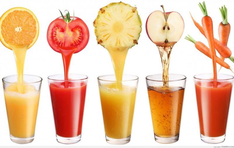Nước ép hoa quả tươi