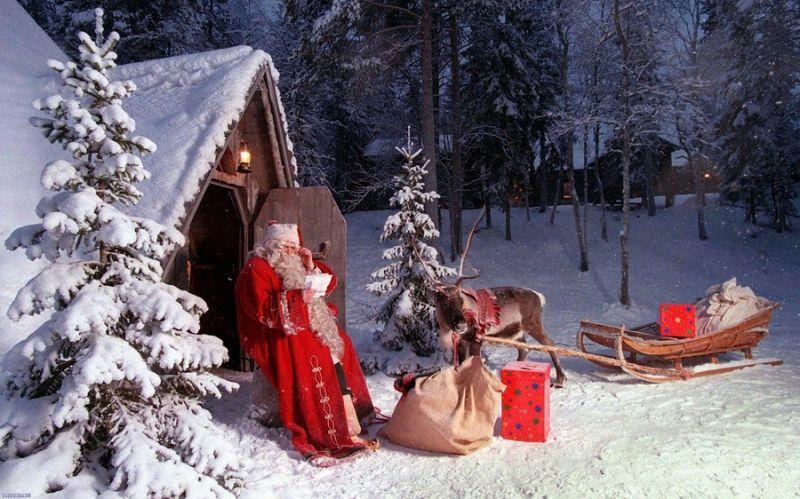 Ông già Noel lấy quà ở đâu?
