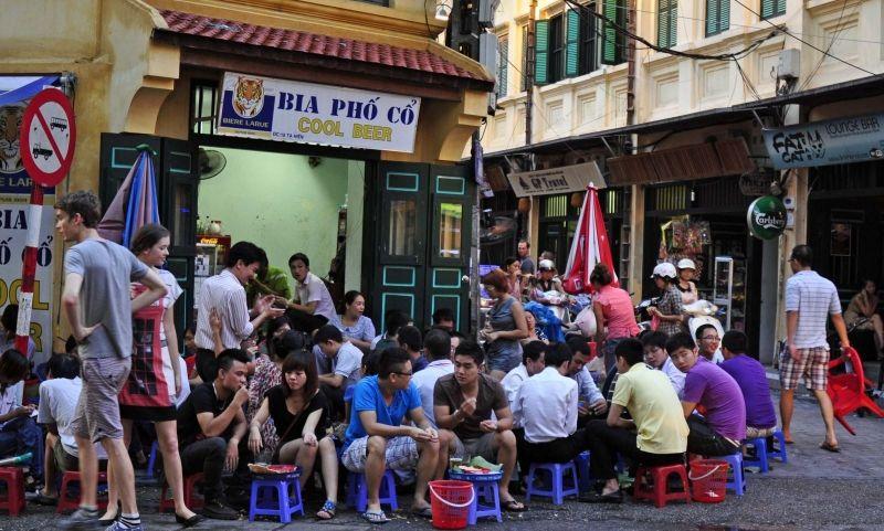 Phố bia Tạ Hiện, Hà Nội