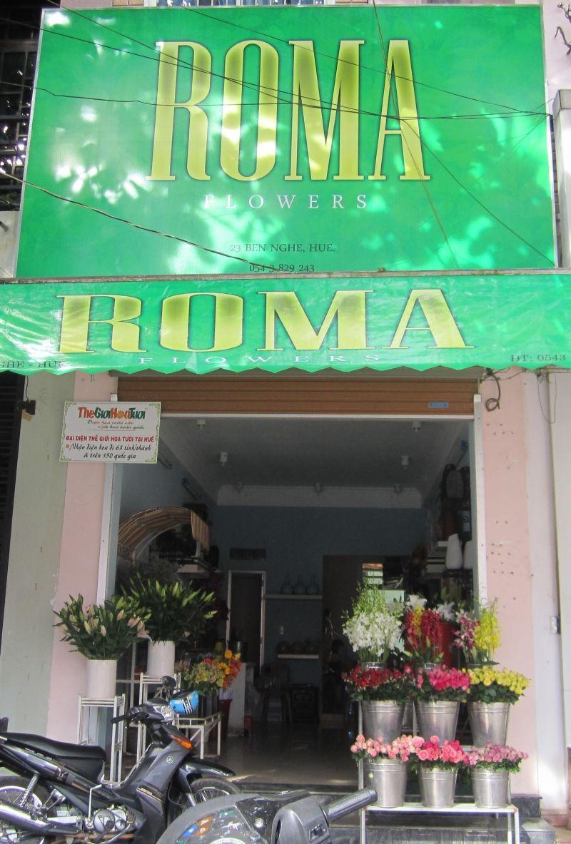 Shop hoa Roma