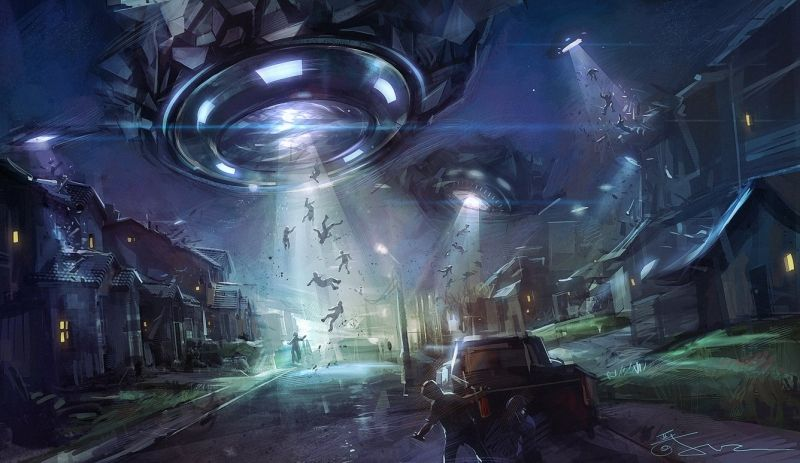 Sinh vật ngoài hành tinh xâm lược Trái Đất