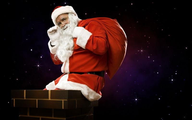 Tại sao ông già Noel vào nhà tặng quà bằng ống khói?