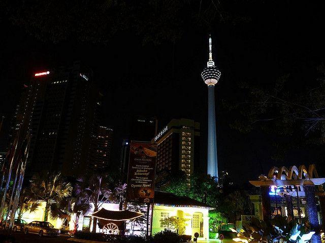 Tháp KL - Malaysia