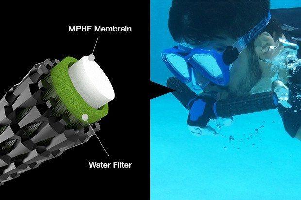 Thiết bị hỗ trợ thở dưới nước