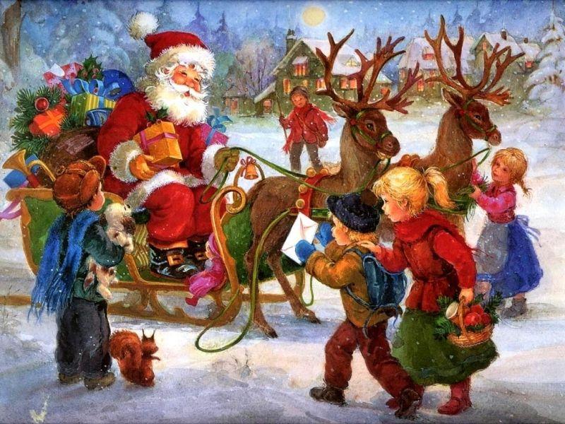 Thú cưng của ông già Noel