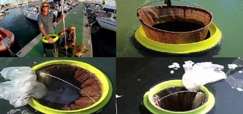Thùng gom rác nổi trên biển Seabin
