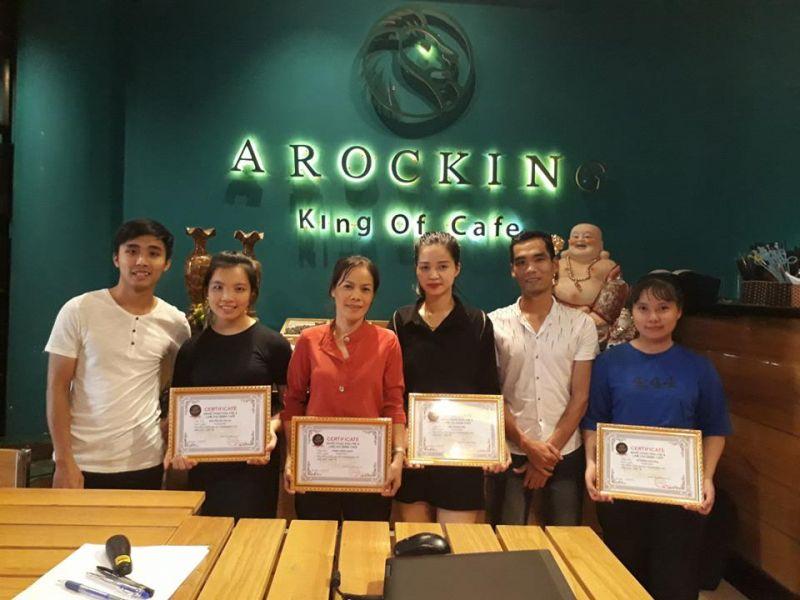 Trung tâm đào tạo pha chế AROCKING CAFE