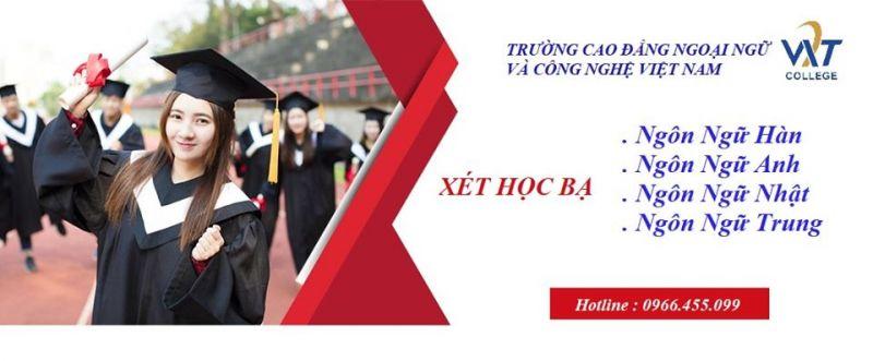 Trường Cao Đẳng Ngoại Ngữ Và Công Nghệ Việt Nam