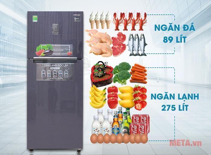 Tủ lạnh Samsung Digital Inverter 364L RT35K5532UT/SV