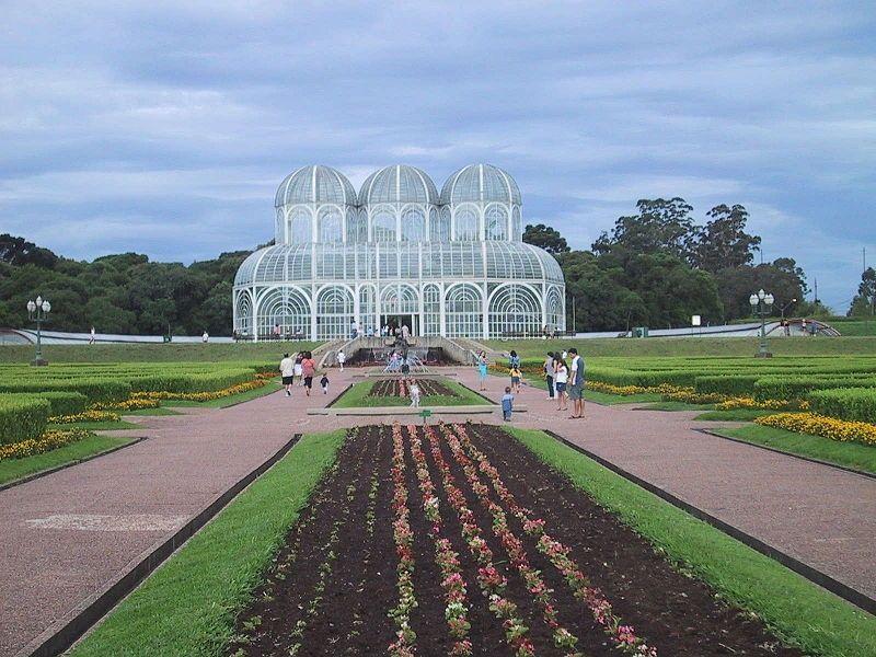 Vườn thực vật ở Curitiba
