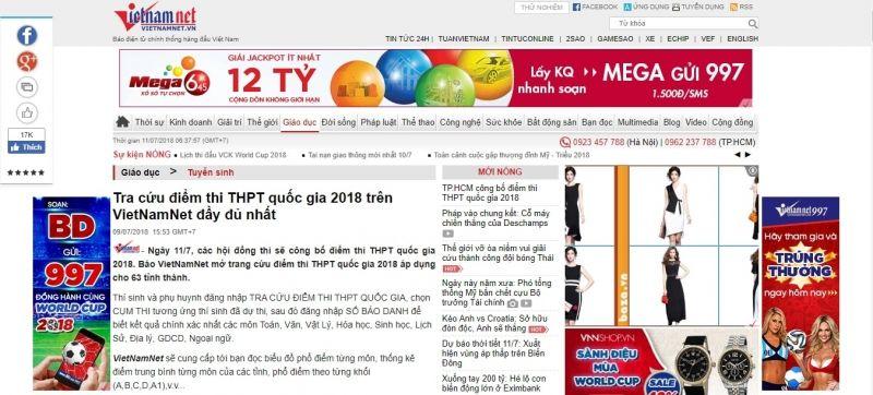 http://vietnamnet.vn/vn/giao-duc/tuyen-sinh/tra-cuu-diem-thi-thpt-quoc-gia-2018-tren-vietnamnet-day-du-nhat-461890.html