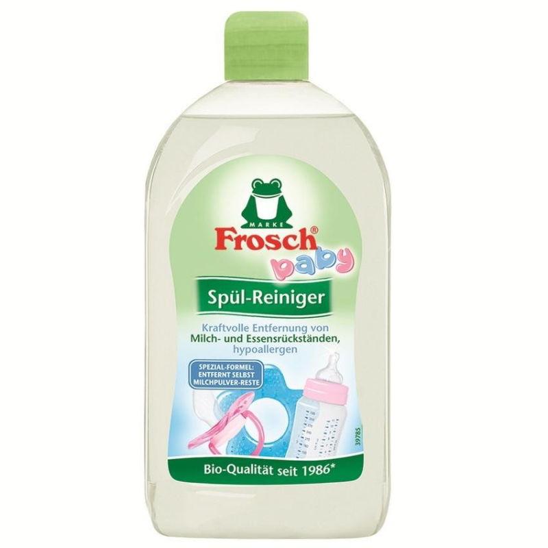 nước rửa bình sữa an toàn Frosch