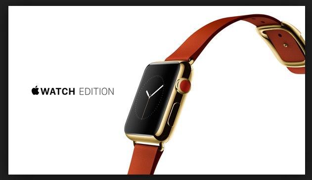 Apple Watch Edition Vàng 18K (năm 2015) – Giá: 17,000$