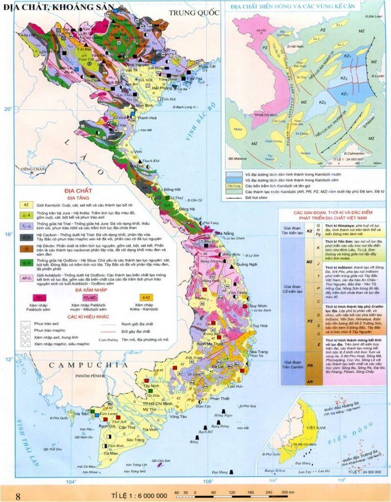 Bài văn tả tấm bản đồ Việt Nam số 10