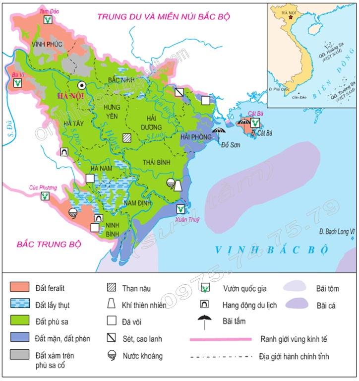 Bài văn tả tấm bản đồ Việt Nam số 6