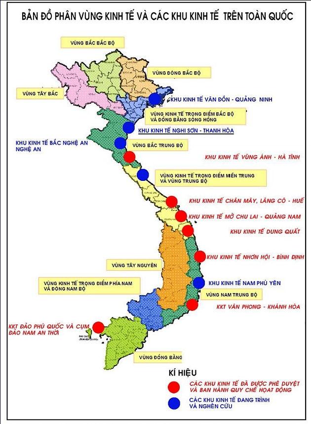 Bài văn tả tấm bản đồ Việt Nam số 8