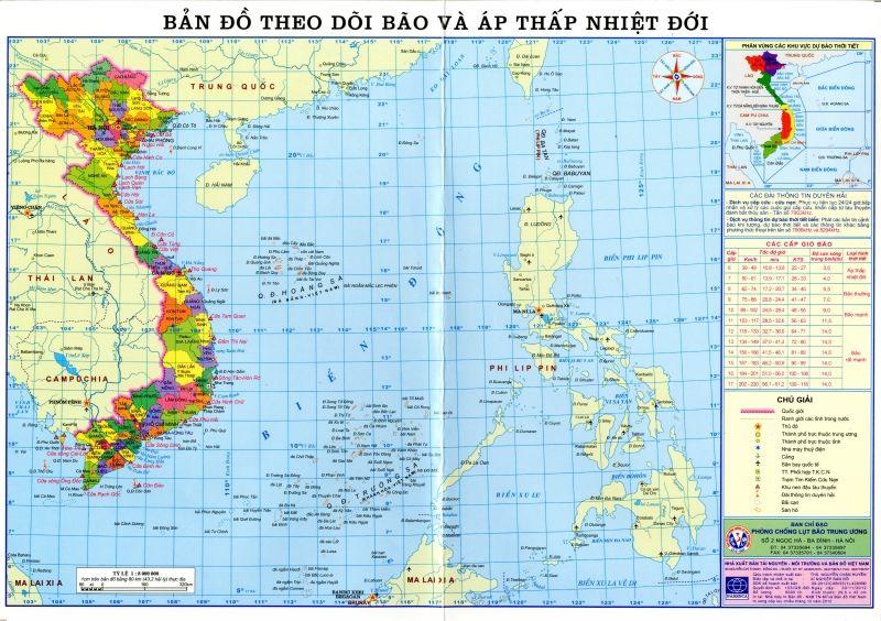 Bài văn tả tấm bản đồ Việt Nam số 9