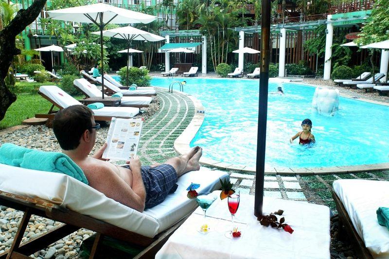 Bể bơi Khách sạn Xanh