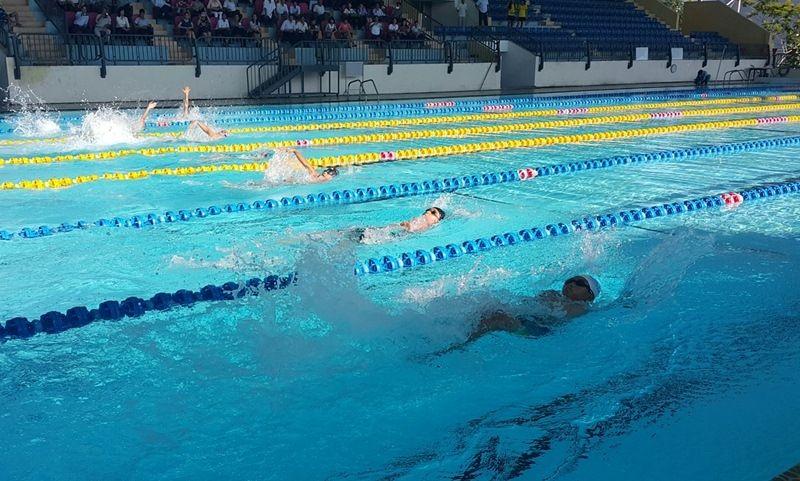 Bể bơi của trường Đại học Thể dục Thể Thao Đà Nẵng