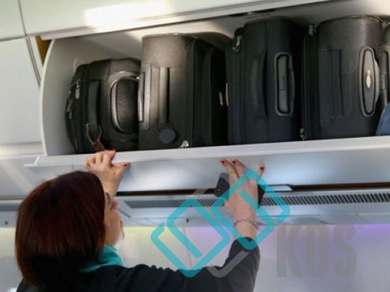 Chiếm quá nhiều chỗ ở ngăn để túi xách tay