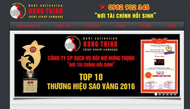 Công ty CP Dịch vụ đòi nợ Hưng Thịnh