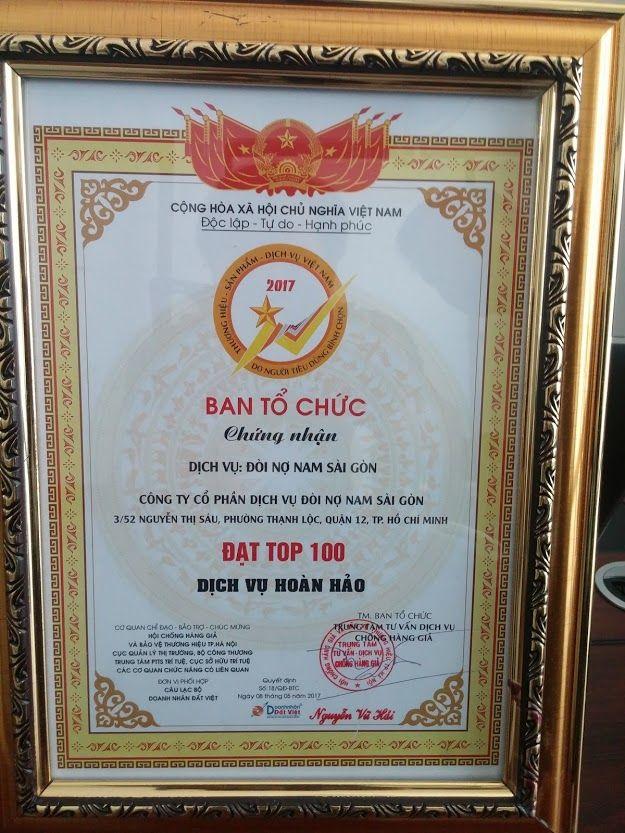 Công ty Cổ phần Dịch Vụ Đòi Nợ Nam Sài Gòn